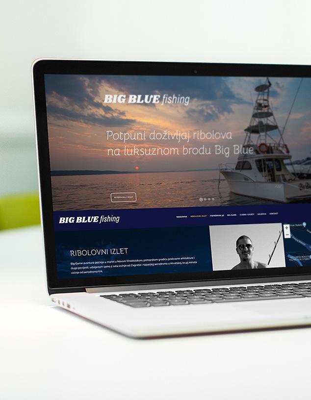 Big Blue Fishing Website
